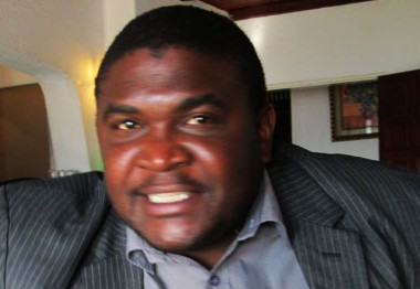 Gweru Mayor Hamutendi Kombayi: unlawfully sacked by Kasukuwere.