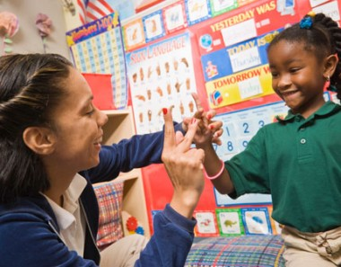 Sign language should be as important as teaching a child ABCs.