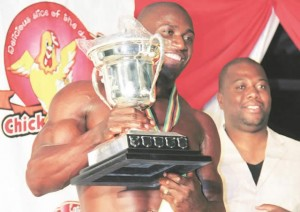 Three-time Mr Zimbabwe Champion Chienderamwano