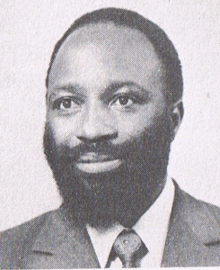 The late Dr Edson Sithole