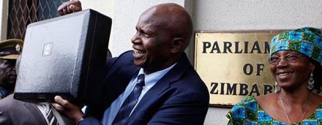 Chinamasa sets 2016 budget at $4 billion