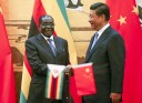Corruption enabler and corrutpion fighter ... President Mugabe and President Xi Jinping