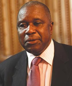 Removed as war veterans leader ... Chris Mutsvangwa