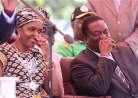 No love lost ... Grace Mugabe and Emmerson Mnangagwa