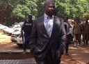 Trading places ... PG Johannes Tomana arriving in court to face his juniors