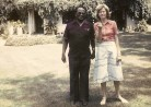 iana Mitchell with the journalist Willie Musarurwa at her home in Highland, Harare