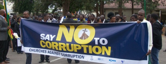 """""""The problem in Africa is corruption"""""""