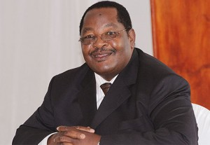 Diamond smile ... Obert Mpofu signed off most of the diamond mining deals with Mugabe.
