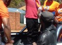 Biti ready for demonstrations.
