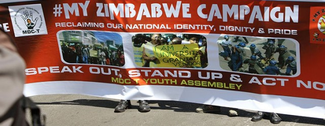 Mdc youths clash with police