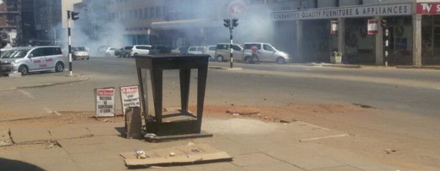 Vendors distance themselves from Harare's violence