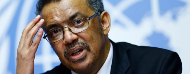 WHO's Dr Tedros withdraws Robert Mugabe goodwill ambassador appointment