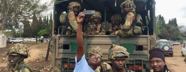 MNANGAGWA SECRETS BLOWN OPEN: I Was In Constant Touch With Military Throughout