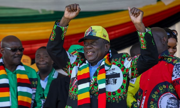 PICS: A timeline of events leading to Zim's historic polls