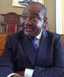 City of Harare mayor, Bernard Munyenyeni