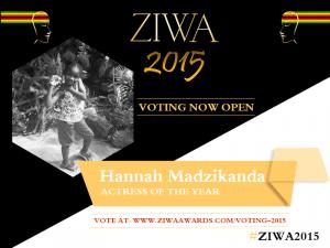 Hannah Madzikanda - Actress of the Year