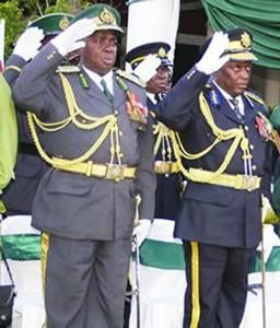 Paradzai Zimondi  and Augustine Chihuri.