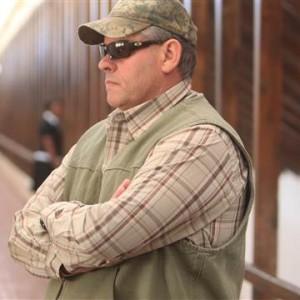 Professional hunter Theo Bronkhorst