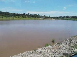 Recharging point of wetland.