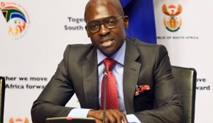 Home Affairs Minister Malusi Gigaba briefs journalists during a post state of the nation news conference at the Imbizo Media Centre in Cape Town on Tuesday, 17 February 2015. (Picture: Department of Communications (DoC)/SAPA)