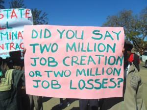 Two million job loses