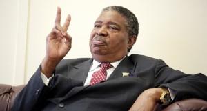 VP Phelekezela Mphoko: extremely frustrated.