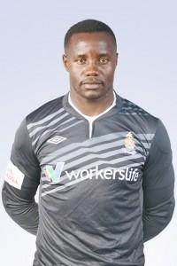 Zimbabwe national team goalkeeper, Washington Arubi.
