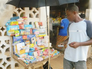 Street vendors have been selling counterfeit medication  since the healthcare system began to disintegrate in the 1990s.