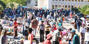 Most of the traders at Mupedzanhamo import bales or smuggle in bales of clothing especially from Mozambique and Tanzania and a client can buy an item for as low as a dollar.