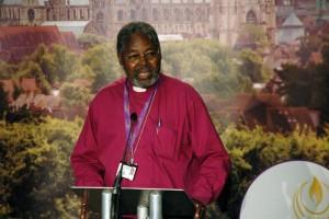 Bishop Bakare: no political party interests – just national interest.