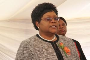 Former vice president, Joice Mujuru.