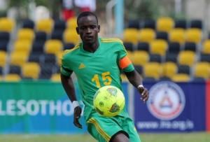 Zimbabwean international left-back, Ronald Pfumbidzai.