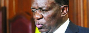 Agreed with suggestion ... VP Emmerson Mnangagwa