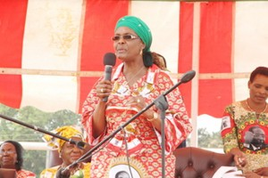 Grace Mugabe: Ziso will make an urgent court application to stop her from donating wares which do not belong to her.