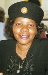 Firebrand war veteran Margret Dongo : founder of Movement for People's First.
