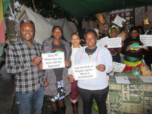 vigil 9 November 2015