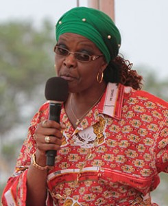 Runs the First Family's dairy business ... Grace Mugabe