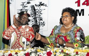 Out in the cold: Didymus Mutasa and Joice Mujuru