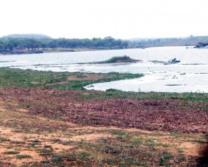 Lake Chivero is drying up
