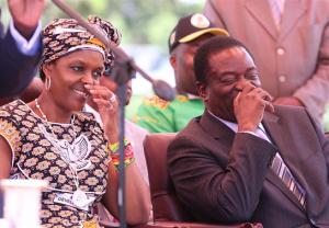 No love lost ... Grace Mugabe and Emmerson Mnangagwa