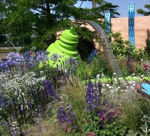 Mcc0048469 Daily Telegraph - Show garden -  The Ecover Garden, Hampton Court Flower Show 08//07/13