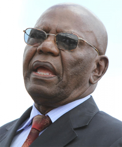 Recalled from Parliament after being expelled from Zanu PF ... Dydmus Mutasa