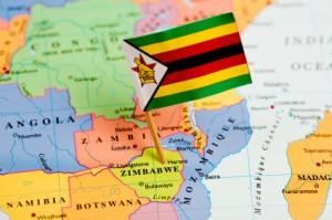 Zimbabwe-World-Map-Flag