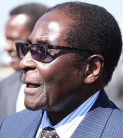 President Robert Mugabe's family dairy survived the 'sabotage'
