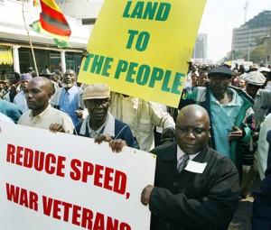 war veterans march