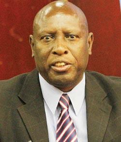 Energy minister, Samuel Undenge