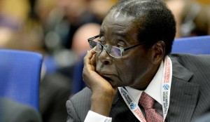 The President of Zimbabwe, Robert Mugabe attends the opening of the 'Second United Nations Conference on Landlocked Developing Countries' in Vienna, Austria, 03 November 2014.  EPA/ROLAND SCHLAGER