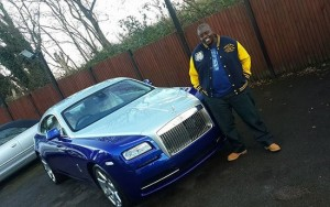 Living large ... Harare businessman Wicknell Chivayo