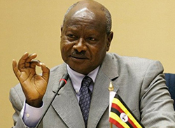 Came to power in 1986 ... President Yoweri Museveni