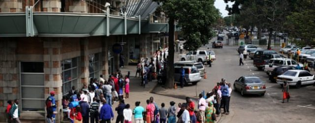 Zimbabwe's economic crisis will deepen without aid, ruling party warns